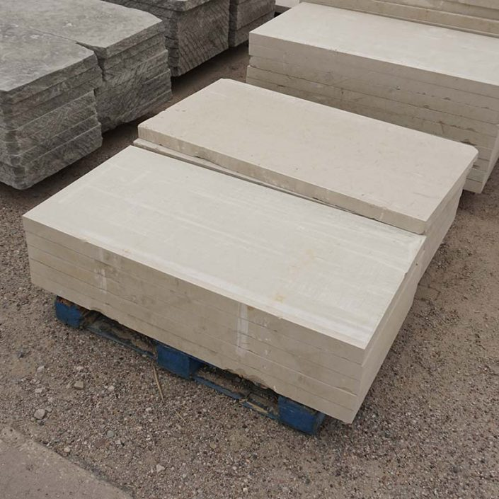 How Much Is A Ton Of Gravel >> Lueders Limestone Slabs - Dallas Stone and Hardscape ...
