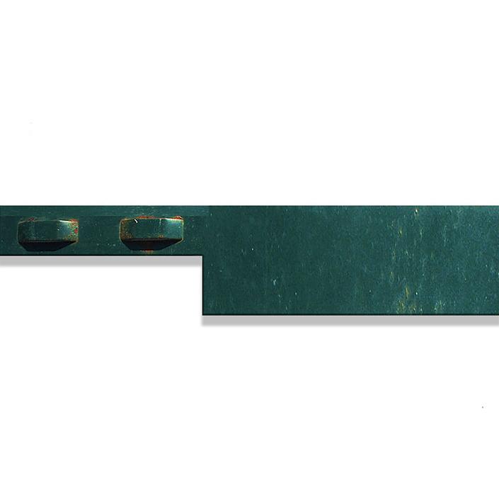 green steel edging