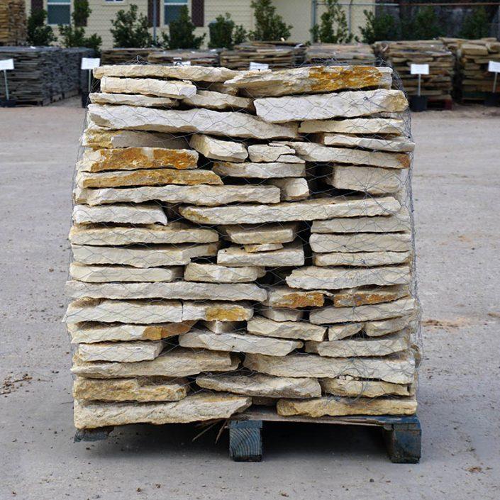 Natural White Nicotine Flagstone Dallas Stone Supplier